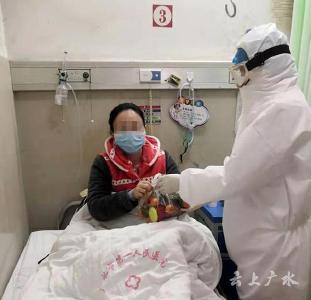 暖心!广水一医院患者收到爱心食品