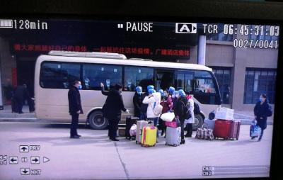 江西老表来了,广水老乡顶住!江西40人医疗救助队今天上午入驻我市开展医疗救助