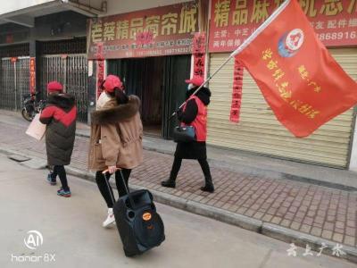 广水400余名志愿者坚守抗疫一线