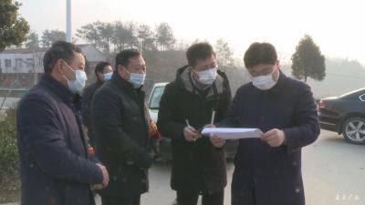 黃繼軍到長嶺馬坪暗訪督導疫情防控工作