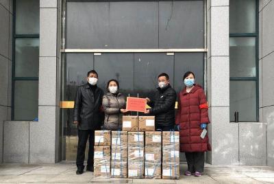 武胜关镇:企业暖人心  助力抗疫情