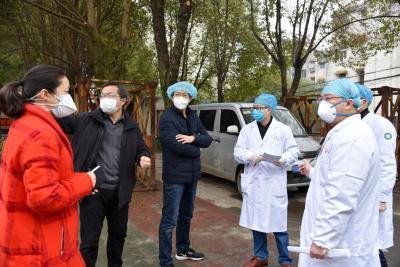 江西第二批援助医疗队与广水一医院对接