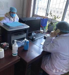 廣水市印臺醫院:不懼疫情 堅守陣地