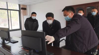 田濤督導疫情防控期間民生保障工作