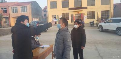 武勝關鎮:志愿者全力抗疫 彰顯愛心 實踐文明