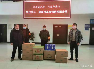 十里辦事處累計收到捐款捐物80多萬元