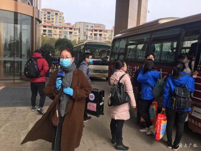 直擊一線|江西第三批39名醫療隊員今天(2月19日)抵達廣水