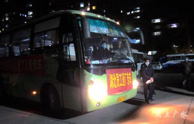 广水市就业局:点对点 护送务工人员返岗就业
