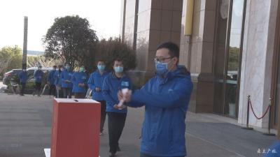 江西醫療隊:抗疫顯仁心 捐款獻愛心
