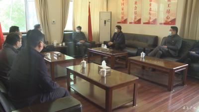 黄继军 田涛调研指导企业复工复产和疫情防控工作
