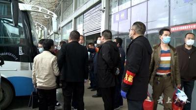 """广水:""""点对点""""服务 助力6000多名外出务工人员顺利返岗"""