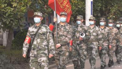 城郊街道办事处:300多名应急民兵 退伍军人坚守防控一线