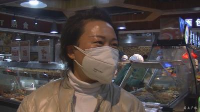 广水:超市恢复正常营业 市民购物秩序井然