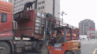 廣州市高峰服飾有限公司向我市捐贈4臺高效空氣凈化器