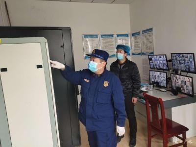 廣水消防救援大隊開展援廣人員住宿場所消防安全專項檢查