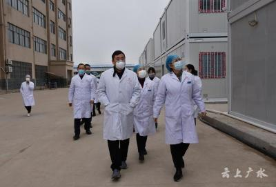 一醫院16名醫護人員進駐廣水健康中心