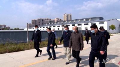 中央指导组物资保障组到广水市开展复工复产专题调研
