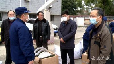 黃繼軍到市消防救援大隊調研應急消防工作