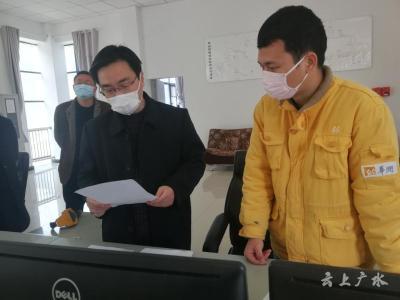 周學軍到吳店鎮調研督導疫情防控與經濟發展、森林防滅火工作