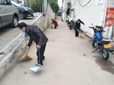 廣水市文化和旅游局積極開展環境衛生大掃除活動