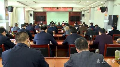 黄继军:加强党组织对各类组织领导 打造共建共治共享治理格局