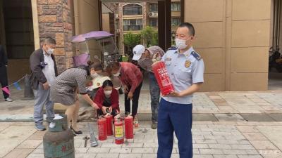市消防救援大队:开展培训演练   提高应对能力