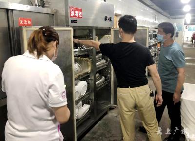 广水市对25所学校开展食品安全专项检查