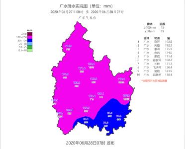 【持续更新中】暴雨来袭! 广水市各地积极开展抗灾救灾!!!