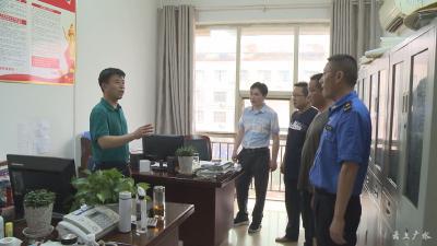 广水市园林局:加强值守巡逻 守护群众安全