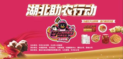 直播 | 湖北助农行动QQ购物直播大冶农副产品专场