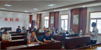 市民政局舉辦安全生產宣傳月消防安全知識講座