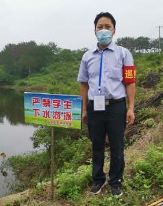 广水市实验初中:开展巡查 严防溺水