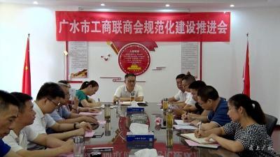 市工商联商会规范化建设推进会召开
