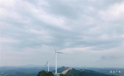 湖北首个风光一体发电项目在广水全部投产