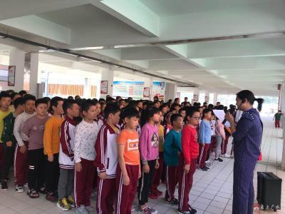 永陽學校積極開展假期安全教育活動