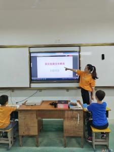廣辦一小開展國慶、中秋節前安全宣傳教育活動