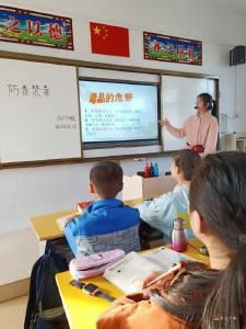 城郊应台小学开展禁毒主题教育活动