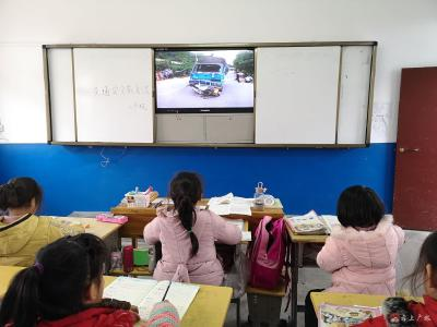蔡河鎮黃土中心小學開展交通安全教育活動