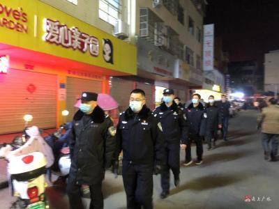 广水市公安机关:加强疫情防控 严实治安管控