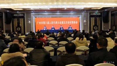 广水市八届人大五次会议召开党员代表大会