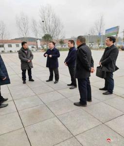 楊光勝到李店鎮調研重點企業
