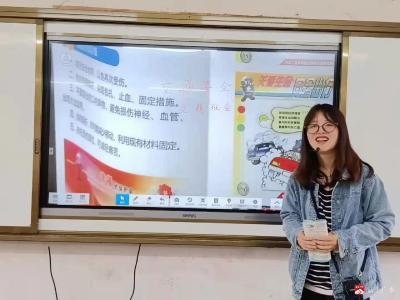 楊寨鎮中心小學開展學生交通安全教育