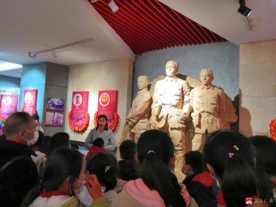 廣辦駝子中心小學:緬懷革命先烈 傳承紅色基因