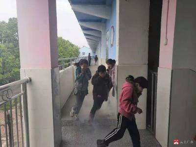 太平鎮紅旗中心小學開展消防安全演練