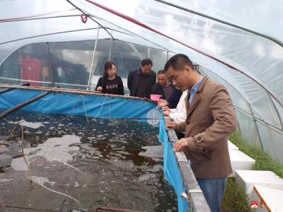 廣水市農業農村局開展水產品質量安全專項整治行動
