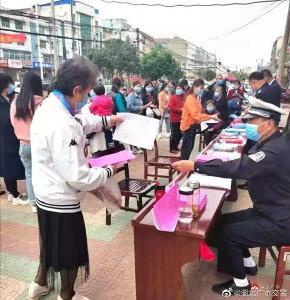 """尋找事故破解良策,廣水交警開展老年人事故預防""""精準""""宣傳"""