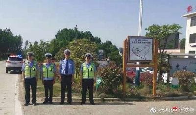 """廣水交警突出重點抓整治  保障""""五·一""""期間道路交通安全"""