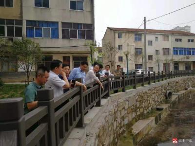 馮安龍調研廣水生態環境問題整治