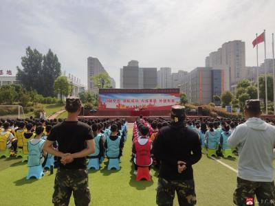陳巷鎮中心中學組織開展學生課外素質拓展活動