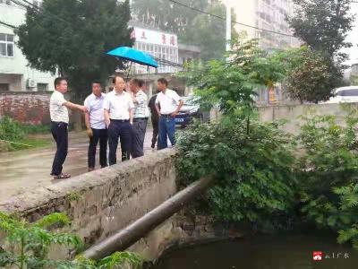 廣水市陳巷鎮開展鎮區環境衛生大檢查